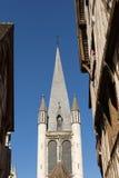 Notre Dame church, Dijon, France stock photos