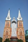 Notre dame church Ho Chi Minh Stock Photo