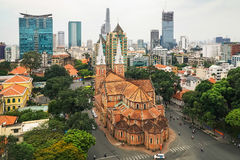 Notre Dame church Saigon Royalty Free Stock Photography