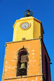 Notre Dame Church in Saint-Tropez Royalty Free Stock Images