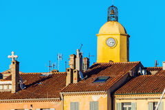 Notre Dame Church in Saint-Tropez Stock Photo