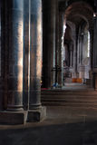 Notre-Dame d'Orcival, Puy-de-Dome Stock Photo