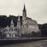 Notre Dame de卢尔德 免版税图库摄影