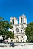 Notre Dame de巴黎。 库存图片
