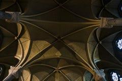 Notre-Dame De Ładny, Ładnego, Cote wśrodku bazyliki d & x27; Azur, Francja obrazy royalty free