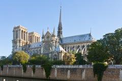 Notre-Dame de Παρίσι Στοκ εικόνα με δικαίωμα ελεύθερης χρήσης