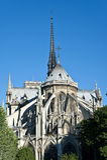 Notre-Dame de Παρίσι Στοκ Φωτογραφία
