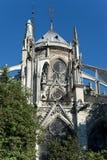 Notre-Dame de Παρίσι Στοκ φωτογραφία με δικαίωμα ελεύθερης χρήσης