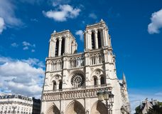 Notre Dame de巴黎 免版税库存照片