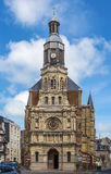 Notre Dame De Bon Secours Church, Trouville-sur-MER, France photographie stock libre de droits