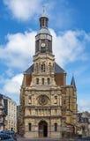 Notre Dame De Bon Secours Church, Trouville-sur-MER, Frankrike royaltyfri fotografi