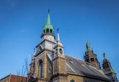 Notre-Dame-de-Bon-Secours kapell - Montreal, Quebec, Kanada royaltyfria bilder