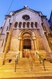 Notre Dame de Bon Voyage Church i Cannes arkivfoto