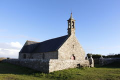 Notre Dame de Bon Voyage in Plogoff Royalty Free Stock Images