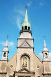 Notre Dame de Bonsecours Chapel stock photography