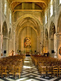 Notre Dame de Calais church Stock Images