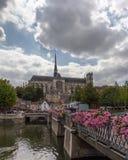 Notre Dame de cathédrale d'Amiens en France images libres de droits