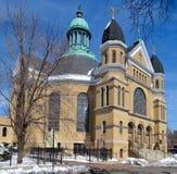 Notre Dame de Chicago Stock Foto