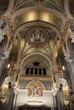 Notre Dame de Fourviere,利昂大教堂  免版税库存照片