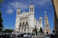 Notre Dame de Fourviere photo stock