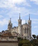 Notre Dame de Fourviere Stockbilder