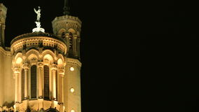 Notre-Dame de Fourviere arkivfilmer