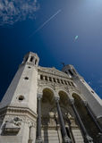 Notre Dame de Fourviere Royalty Free Stock Images