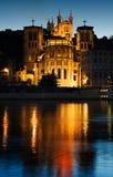 Notre Dame de Fourviere, Lyon stockfotografie