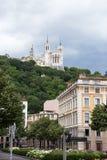 Notre Dame de Fourviere, Lyon Stockbilder