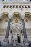Notre Dame de Fourviere Lyon France Stock Photography