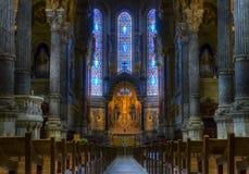 Notre-Dame de Fourvière Stock Photography
