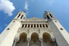 Notre-Dame de Fourvière Stock Photo