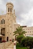 Notre Dame de Jerusalem, courtyard Royalty Free Stock Image