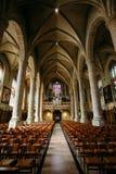 Notre-Dame-de Kathedraal, Luxemburg is de Romein Stock Afbeelding