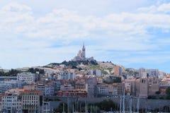 Notre Dame de la加尔德角-马赛 免版税库存图片