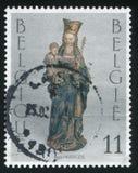 Notre Dame de la Chapelle Brussels Stock Photography