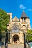 Notre-Dame de la Couture a Le Mans, Francia immagini stock