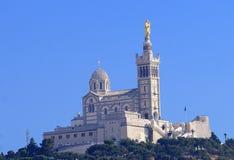Notre Dame de la Garde Image libre de droits