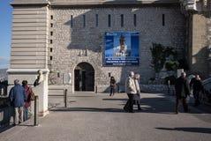 Notre Dame de la Garde arkivbild