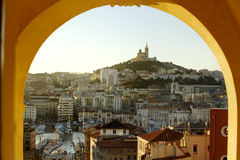 Notre Dame de la garde Abbey Royalty Free Stock Images