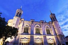 Notre-Dame de la Garde Basilica in Marseille. Marseille, Provence-Alpes-Cote d`Azur, France Royalty Free Stock Photo