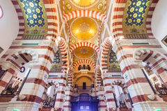 Notre-Dame de la Garde. Basilica in Marseilles, France Stock Photo