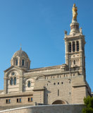 Notre dame de la garde cathedral Stock Photography