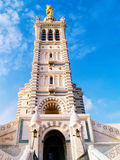 Notre-Dame de la Garde cathedral, Marseille, France Stock Photo