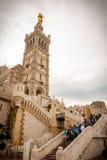 Notre Dame de la Garde cathedral, Marseille Royalty Free Stock Image