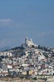 Notre Dame de la Garde cathedral, Marseille Stock Image