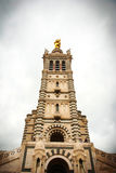 Notre Dame de la Garde cathedral, Marseille Royalty Free Stock Photo