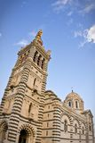 Notre Dame de la Garde in Marseille Royalty Free Stock Photography