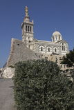 Notre-Dame de la Garde in Marseille Royalty Free Stock Photos