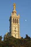 Notre Dame de la Garde in Marseille Stock Image